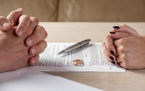 Joint application means you agree on all your separation issues and only need to apply for a divorce order
